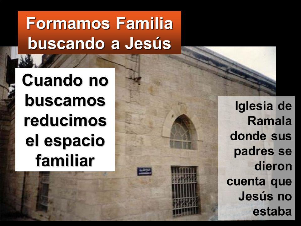 Formamos Familia buscando a Jesús