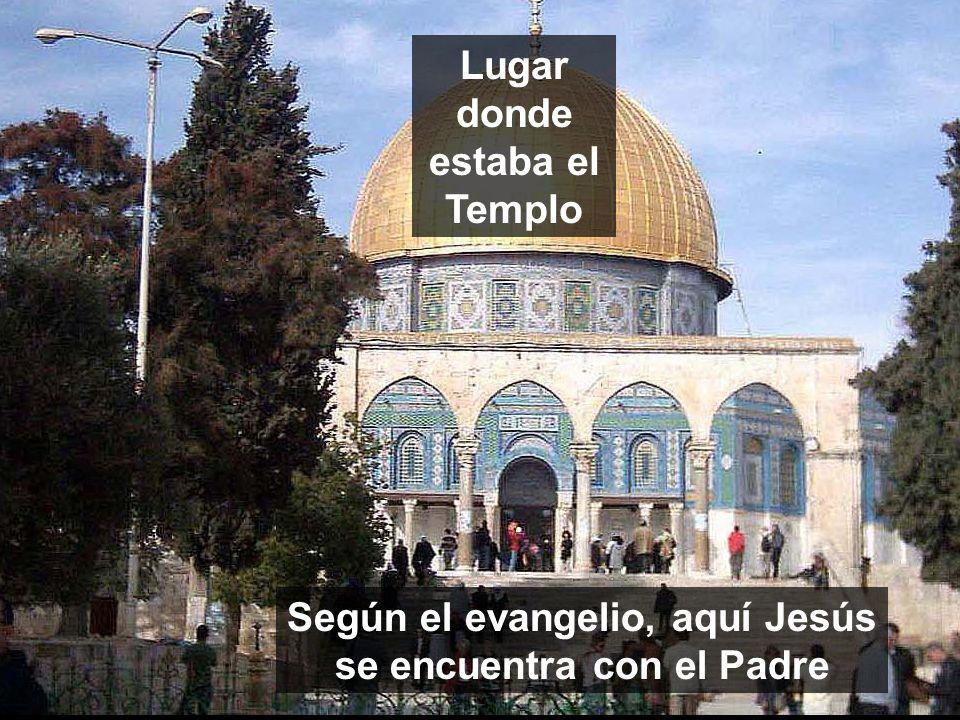 Lugar donde estaba el Templo