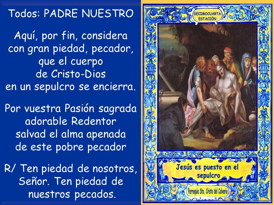 con gran piedad, pecador, que el cuerpo de Cristo-Dios