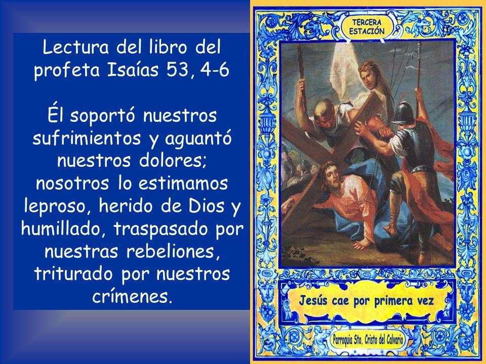 Lectura del libro del profeta Isaías 53, 4-6