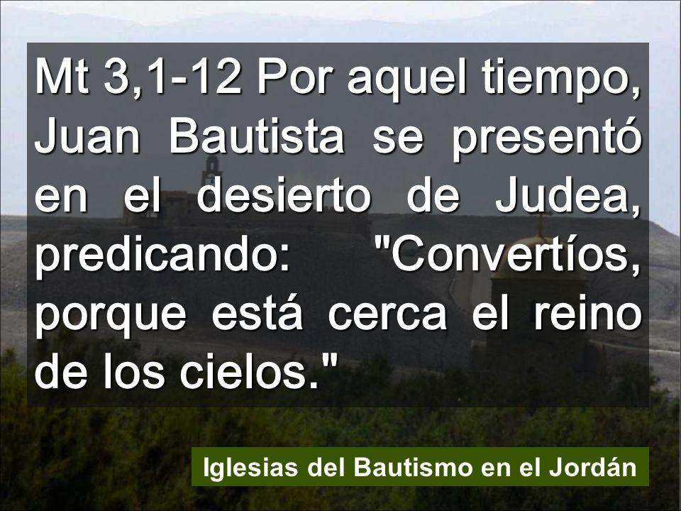 Iglesias del Bautismo en el Jordán