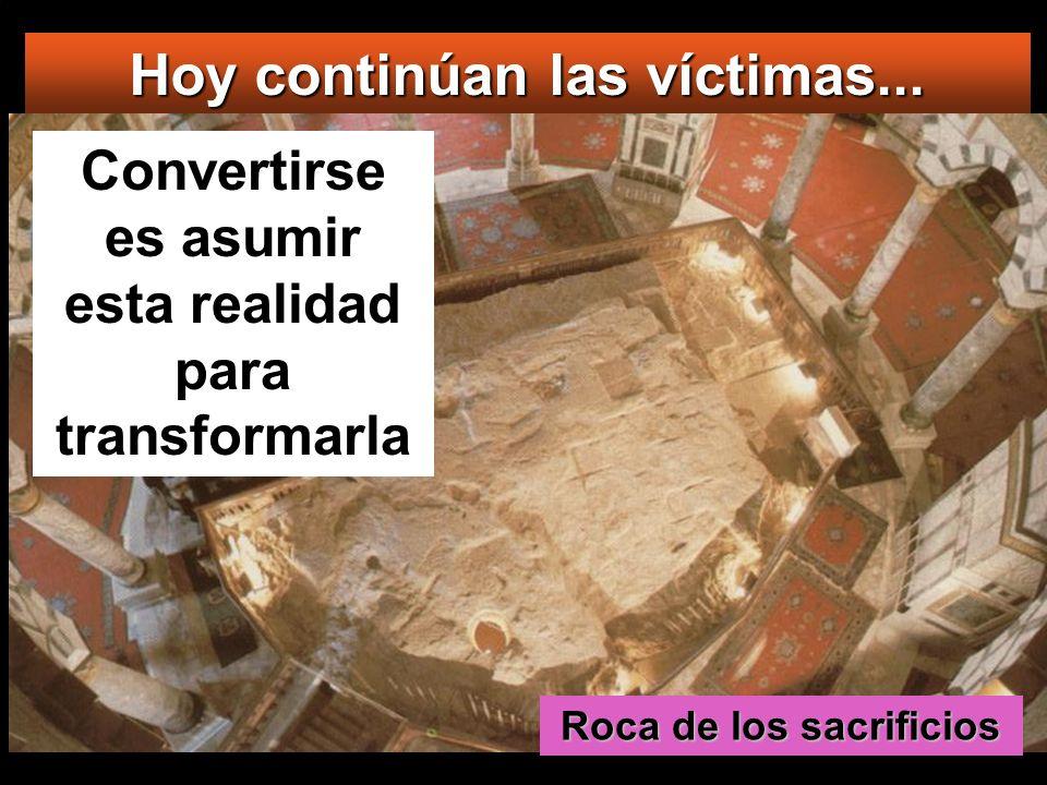 Hoy continúan las víctimas...