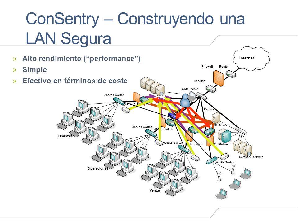 ConSentry – Construyendo una LAN Segura
