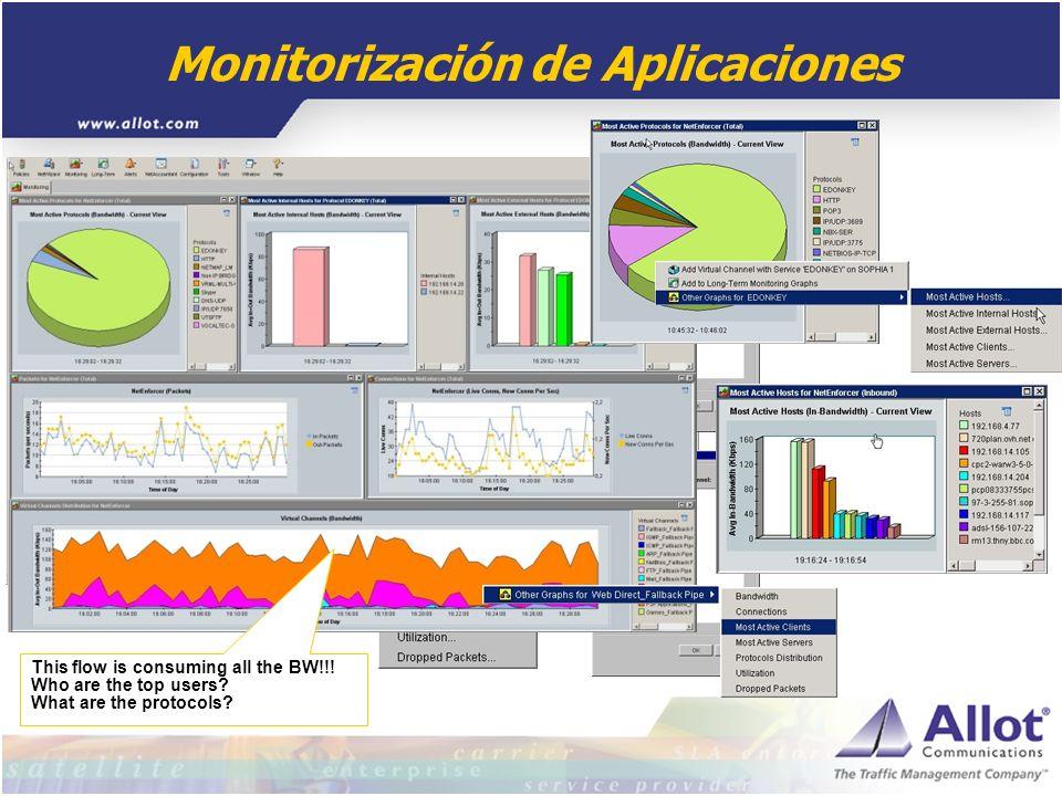 Monitorización de Aplicaciones
