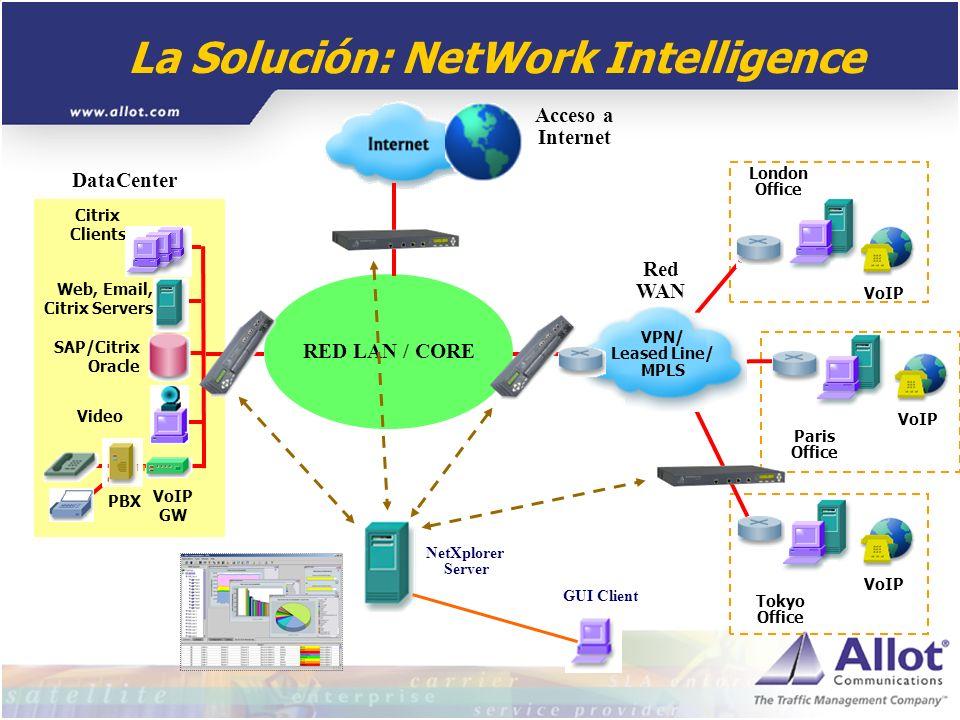 La Solución: NetWork Intelligence