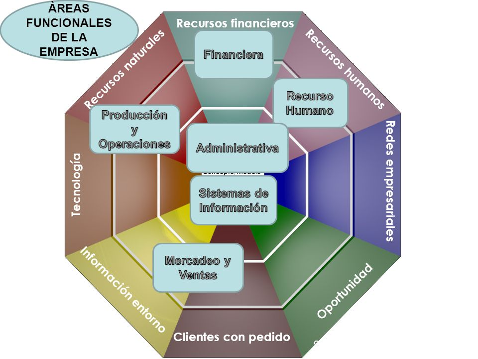 ÀREAS FUNCIONALES DE LA EMPRESA
