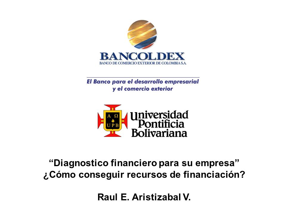 Diagnostico financiero para su empresa
