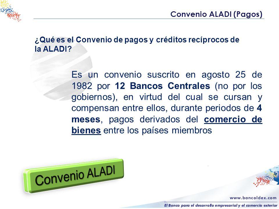 Convenio ALADI (Pagos)