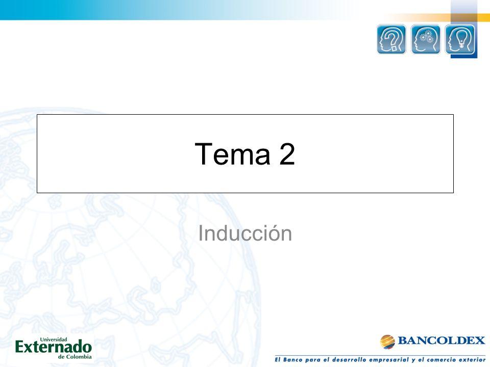 Tema 2 Inducción