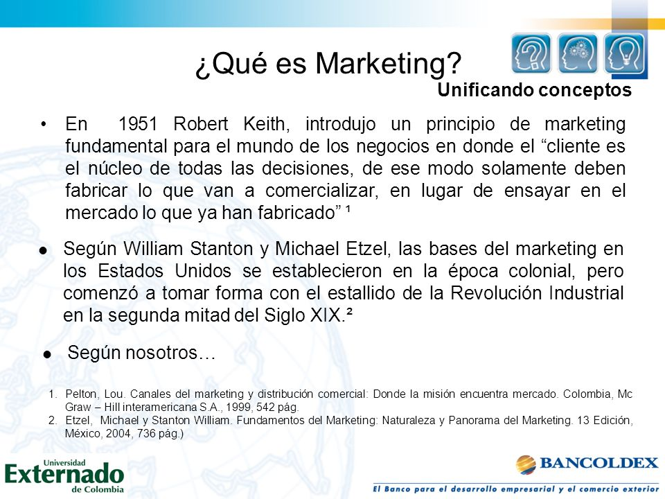 ¿Qué es Marketing Unificando conceptos