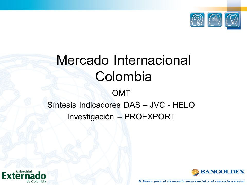 Mercado Internacional Colombia