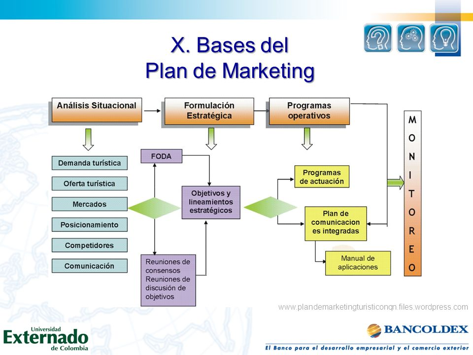 X. Bases del Plan de Marketing