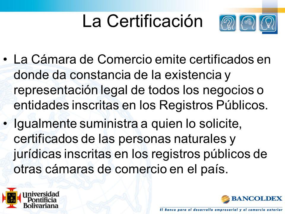 La Certificación