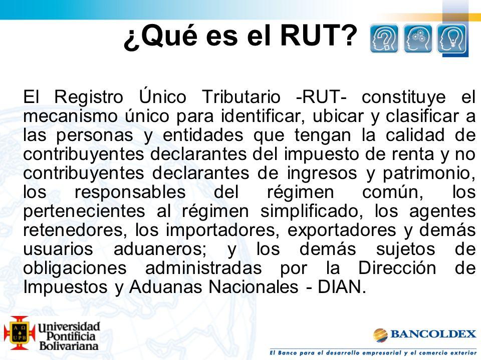 ¿Qué es el RUT