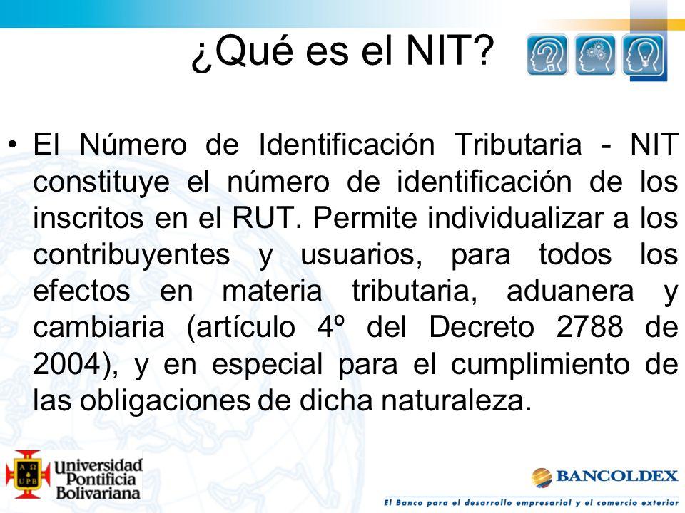 ¿Qué es el NIT