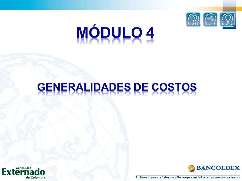 GENERALIDADES DE COSTOS