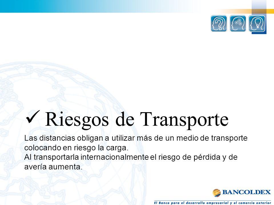 Riesgos de Transporte