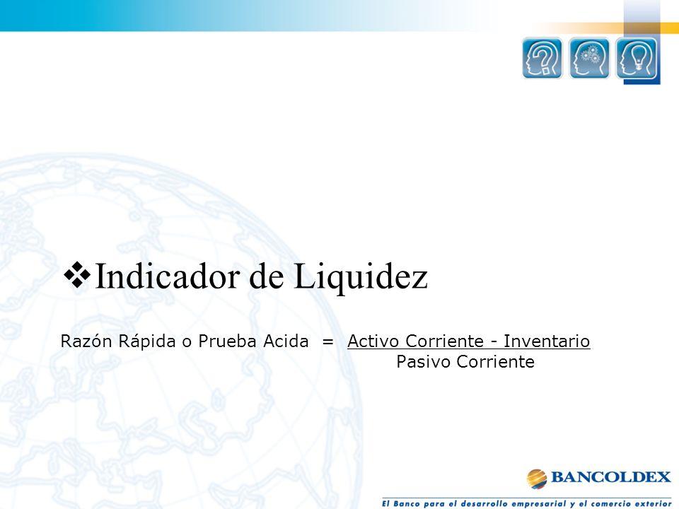 Indicador de Liquidez