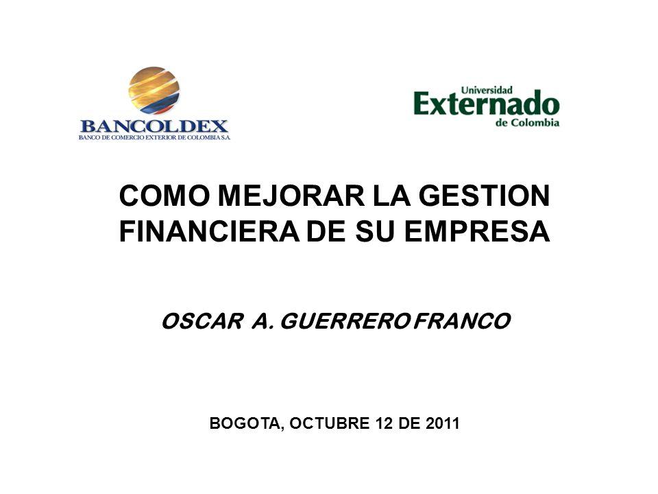 COMO MEJORAR LA GESTION FINANCIERA DE SU EMPRESA