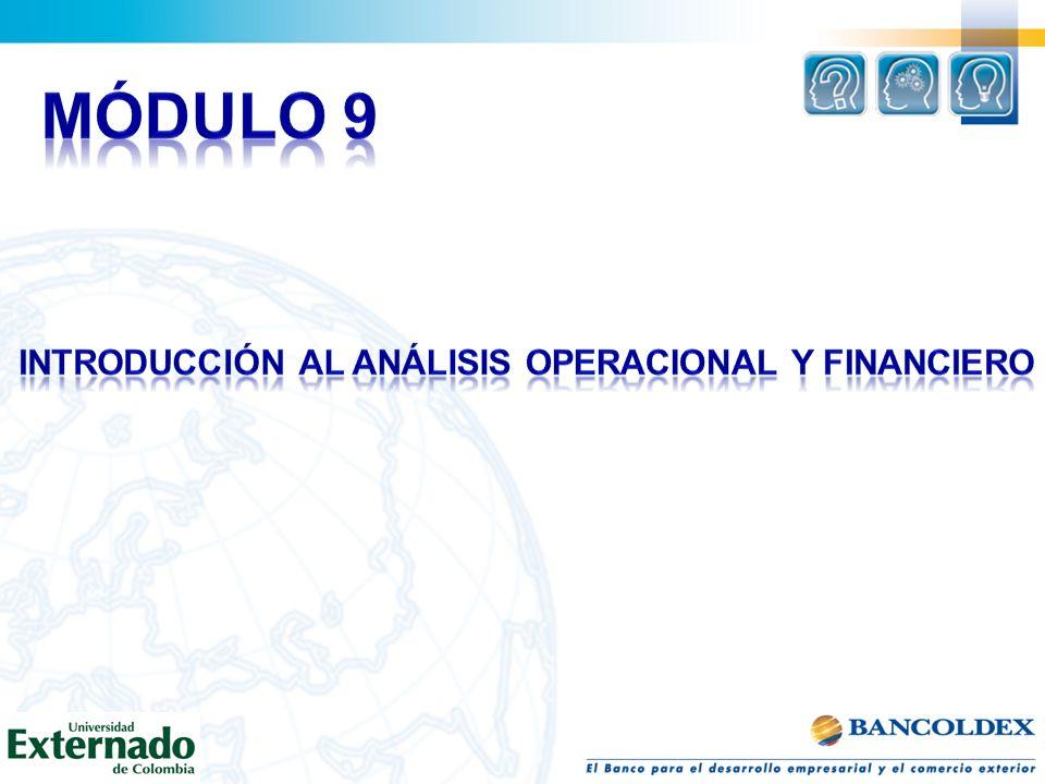 INTRODUCCIÓN AL ANÁLISIS OPERACIONAL Y FINANCIERO