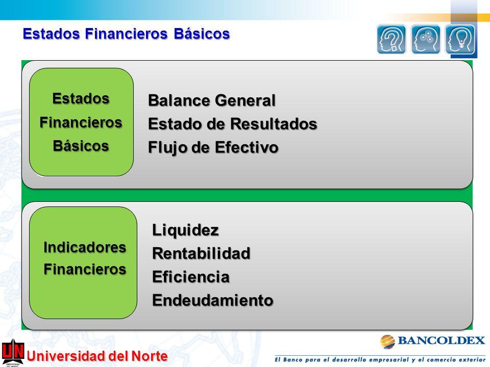 Balance General Liquidez Rentabilidad Estado de Resultados Eficiencia