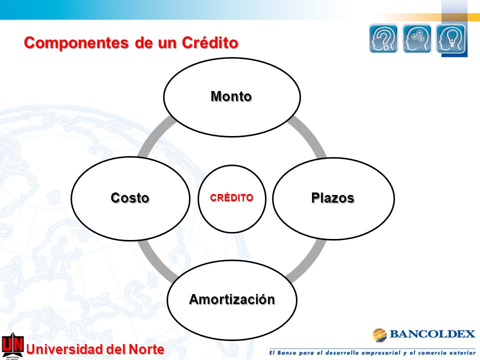 Componentes de un Crédito