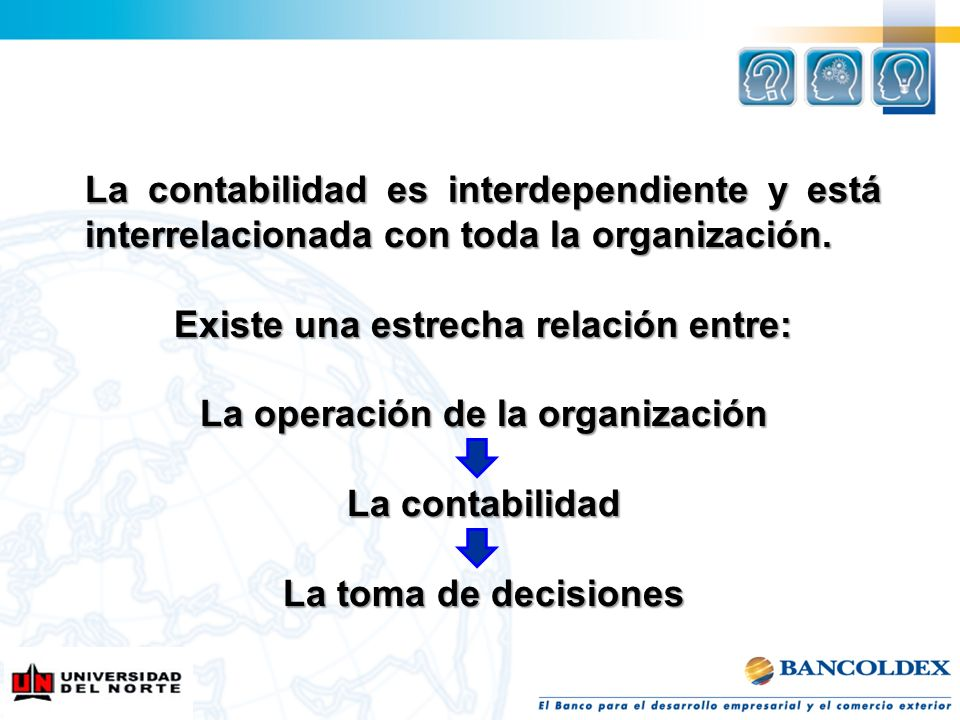 Existe una estrecha relación entre: La operación de la organización