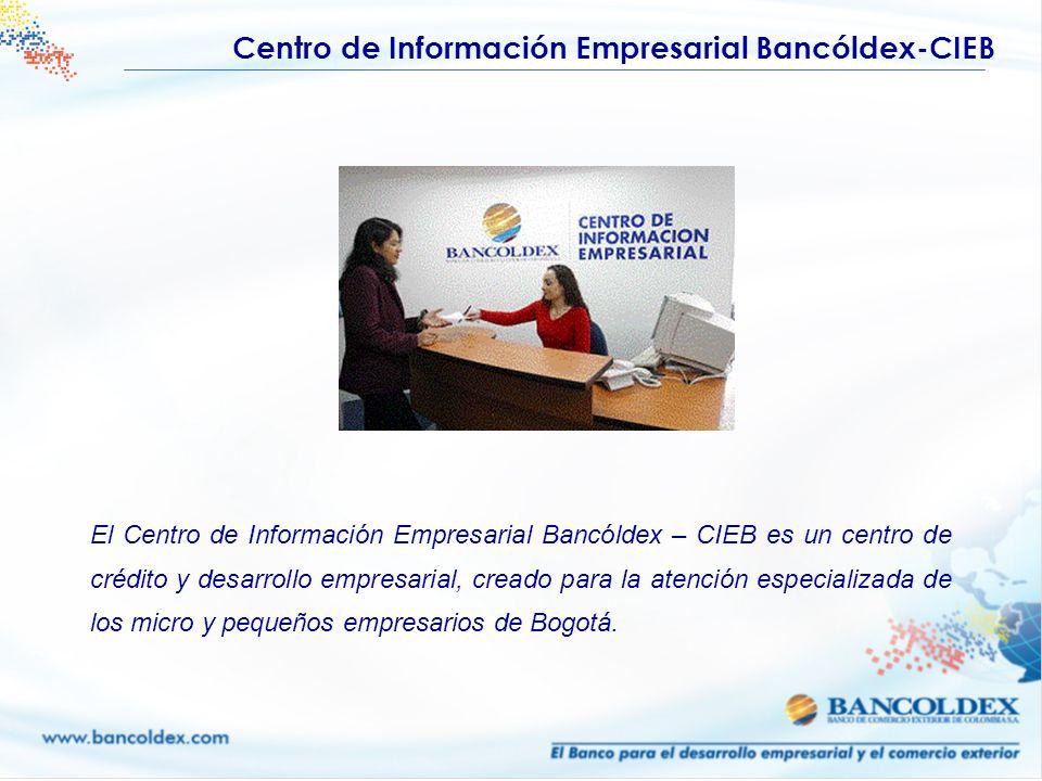 Centro de Información Empresarial Bancóldex-CIEB