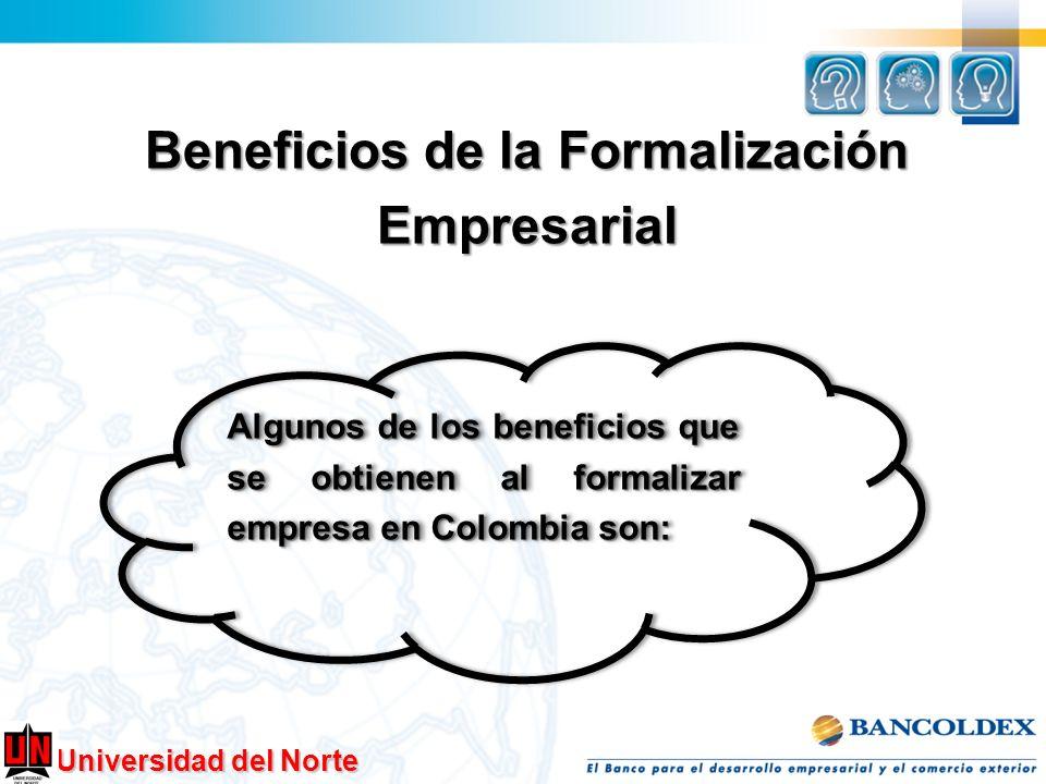 Beneficios de la Formalización Empresarial
