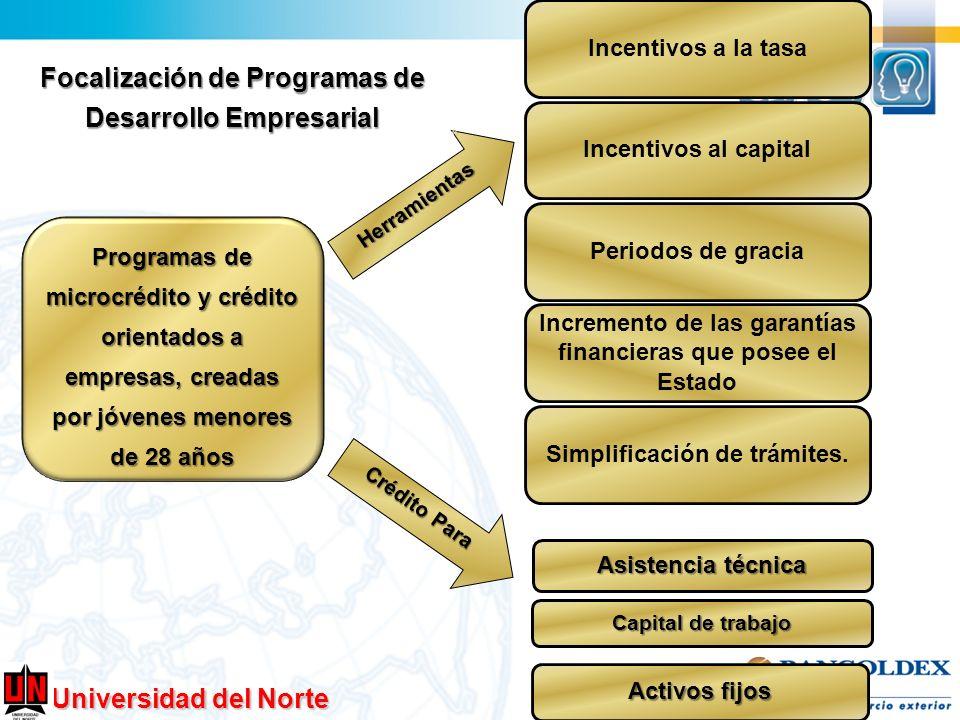 Focalización de Programas de Desarrollo Empresarial