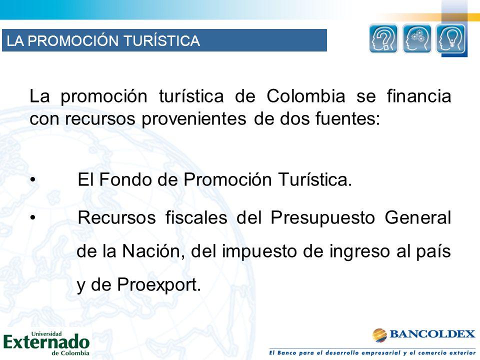El Fondo de Promoción Turística.