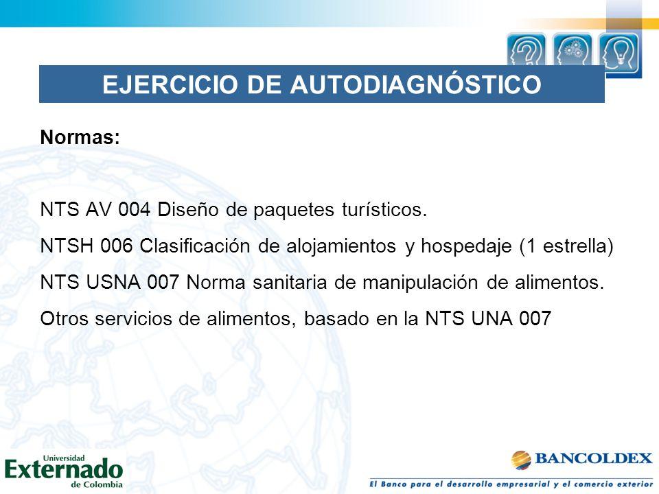 EJERCICIO DE AUTODIAGNÓSTICO