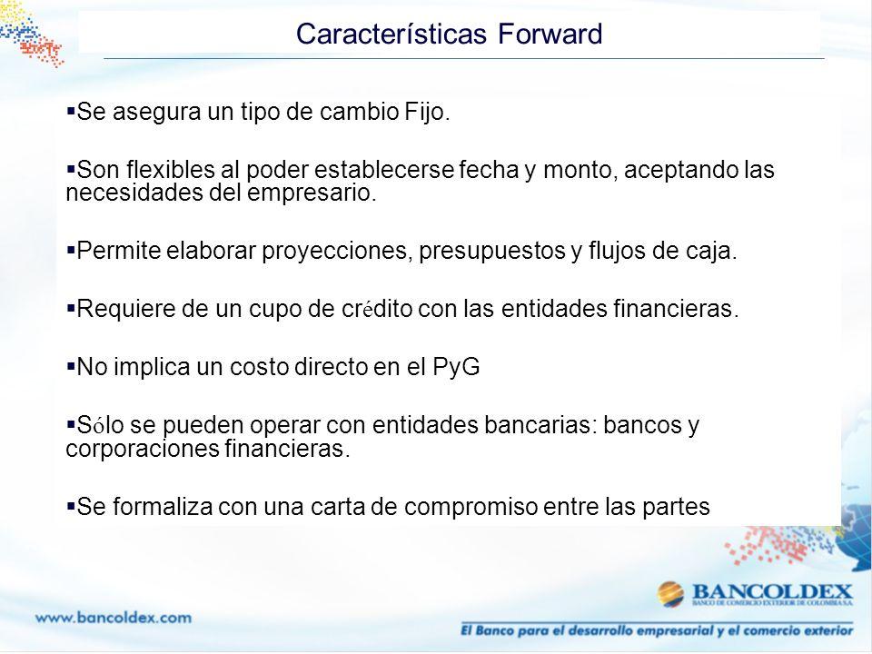 Características Forward