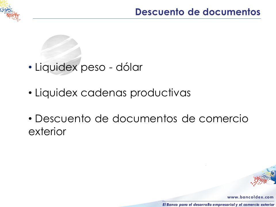 Liquidex cadenas productivas