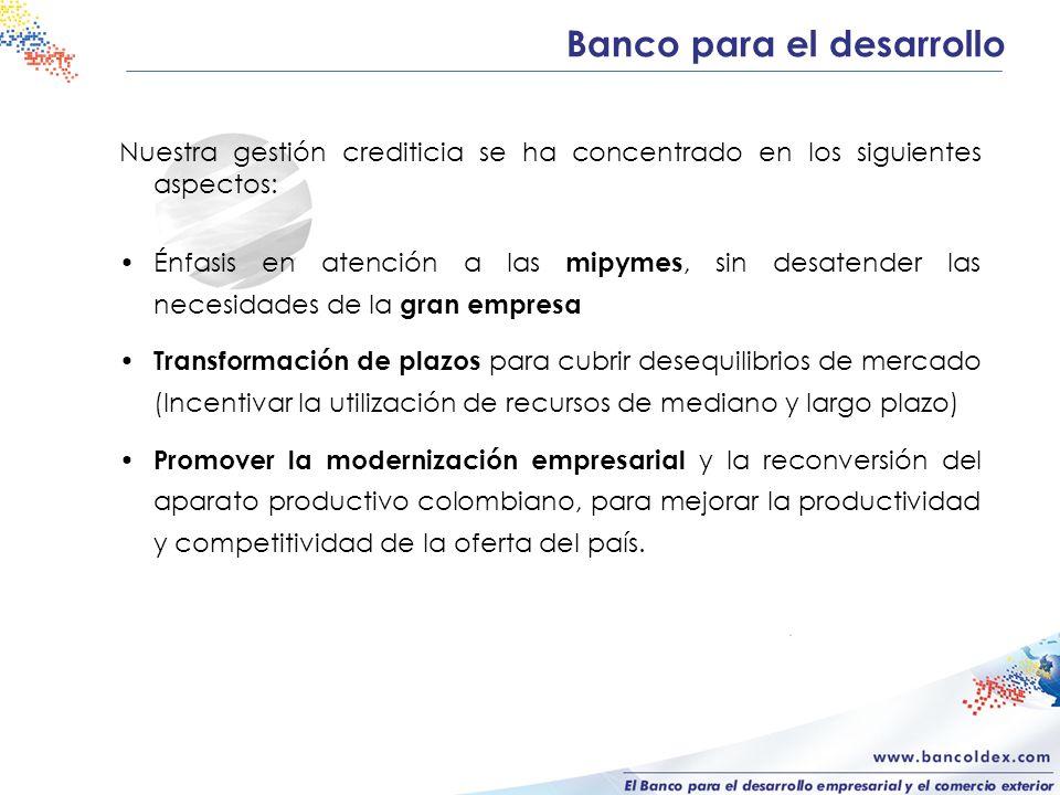 Banco para el desarrollo