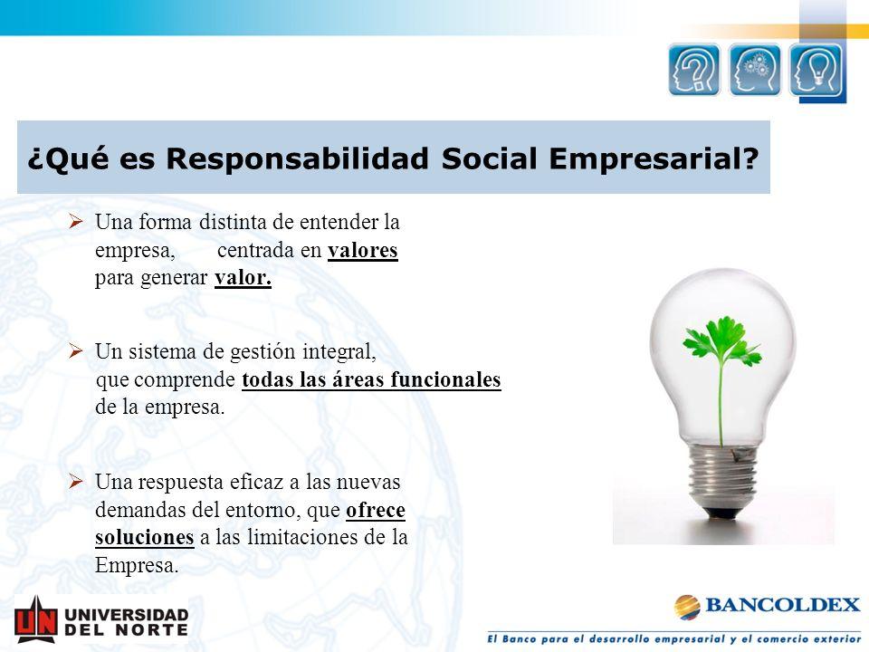 ¿Qué es Responsabilidad Social Empresarial