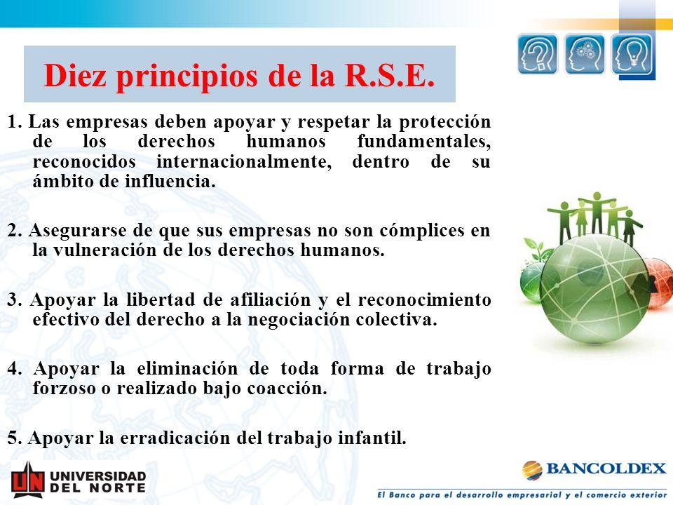 Diez principios de la R.S.E.