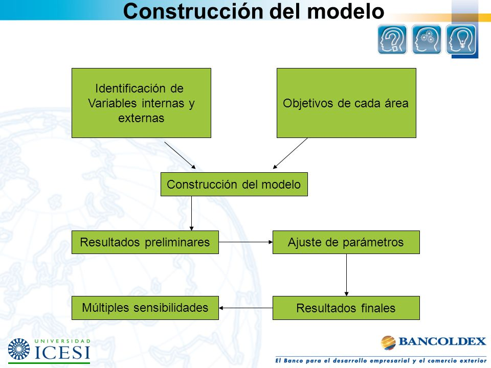 Construcción del modelo
