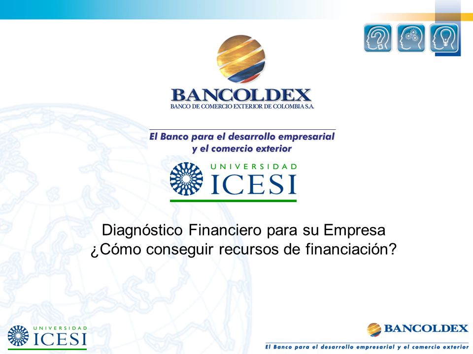 Diagnóstico Financiero para su Empresa