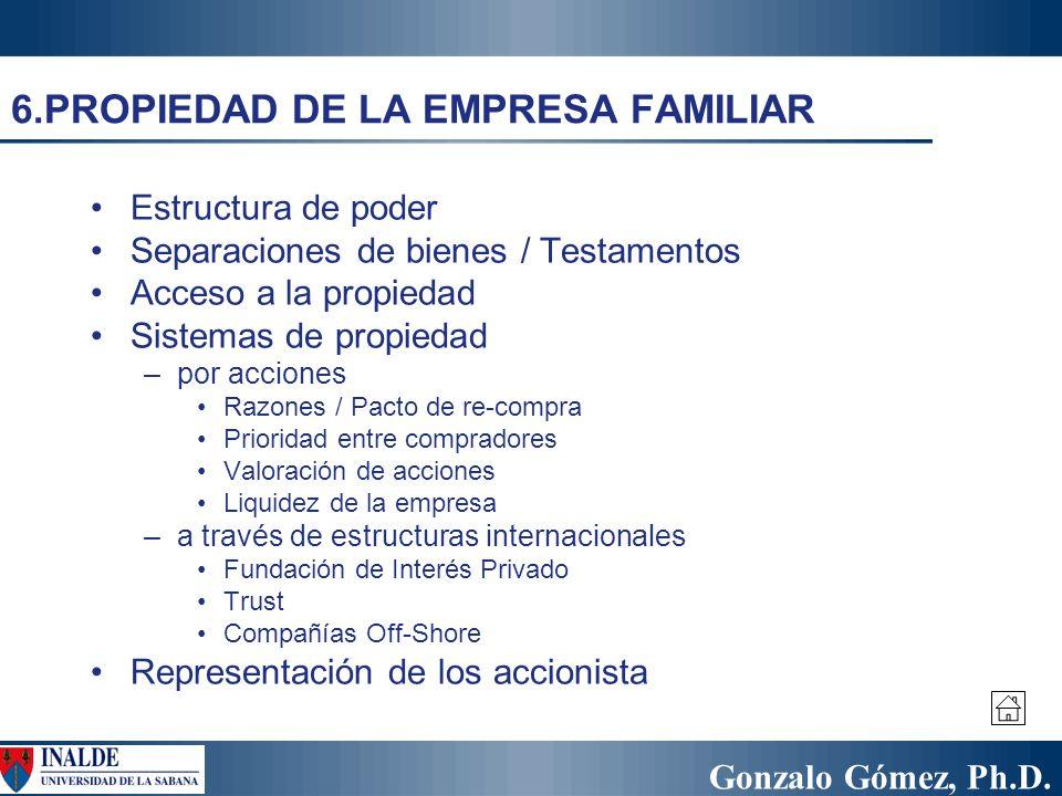 6.PROPIEDAD DE LA EMPRESA FAMILIAR