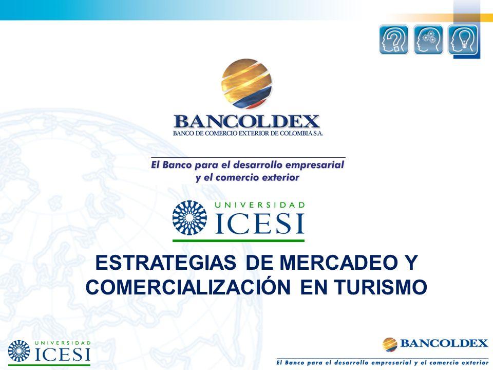 ESTRATEGIAS DE MERCADEO Y COMERCIALIZACIÓN EN TURISMO