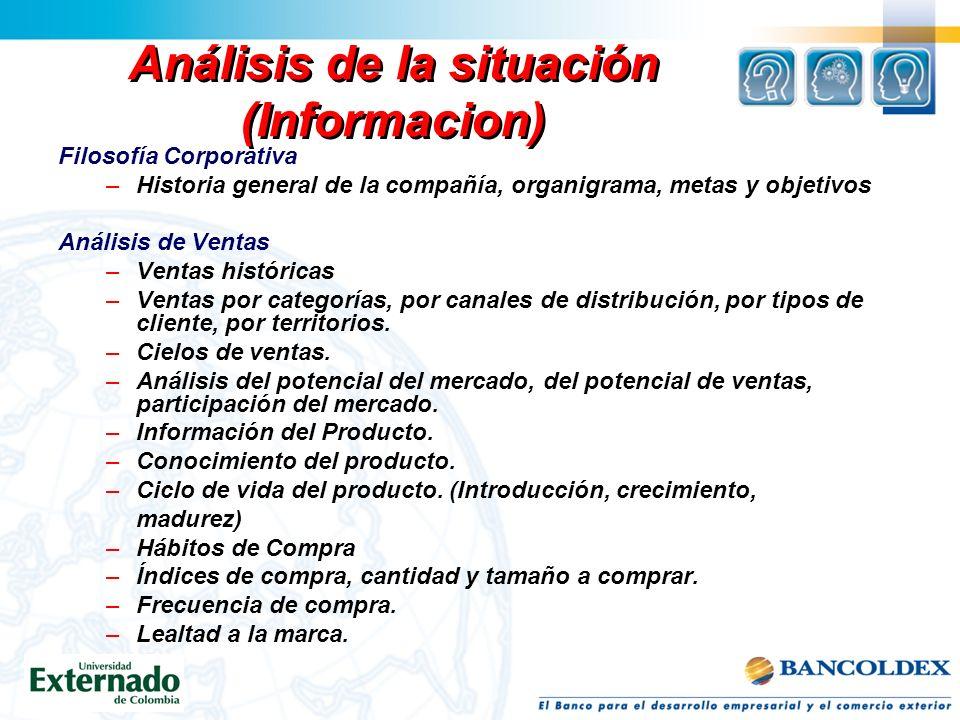 Análisis de la situación (Informacion)