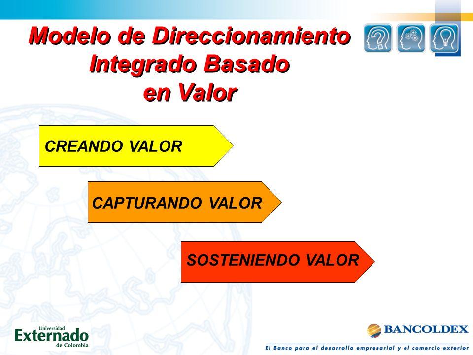 Modelo de Direccionamiento Integrado Basado en Valor