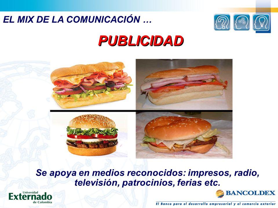 PUBLICIDAD EL MIX DE LA COMUNICACIÓN …