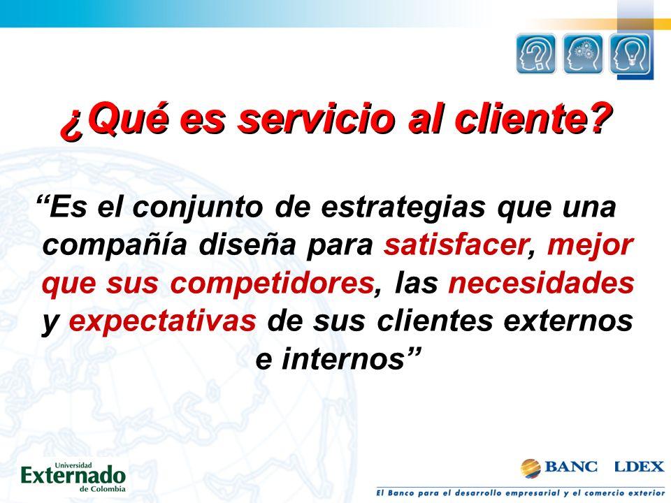 ¿Qué es servicio al cliente