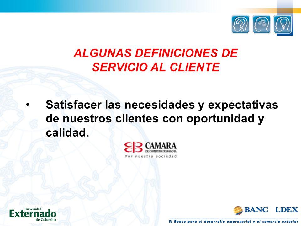 ALGUNAS DEFINICIONES DE