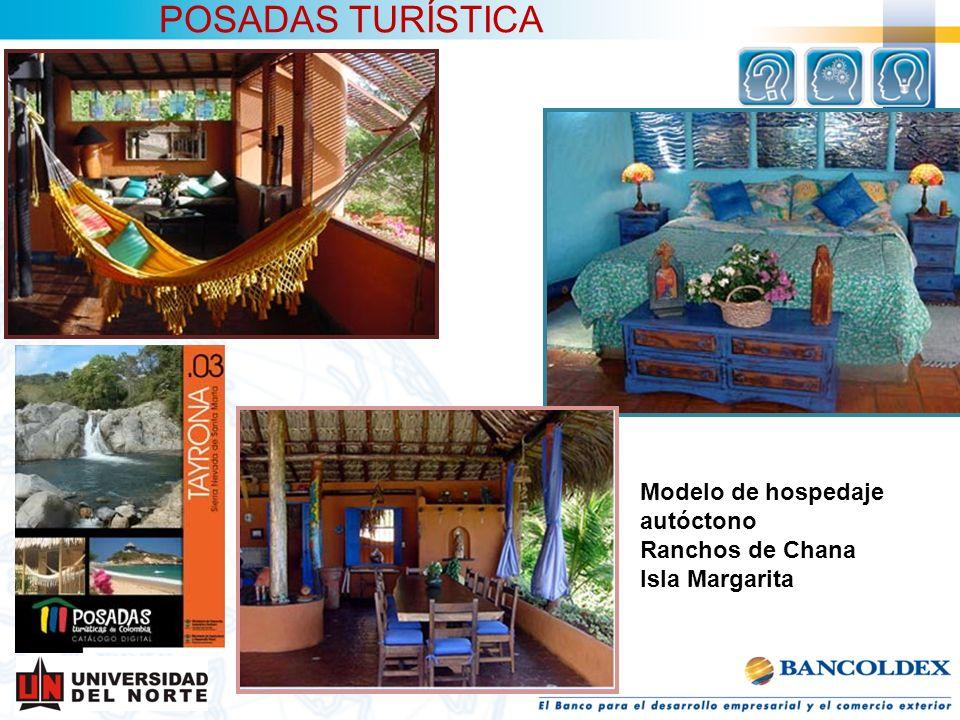 POSADAS TURÍSTICA Modelo de hospedaje autóctono Ranchos de Chana