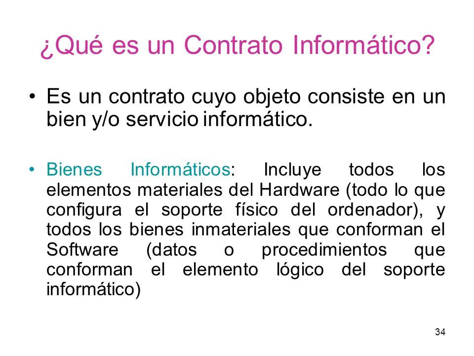 ¿Qué es un Contrato Informático