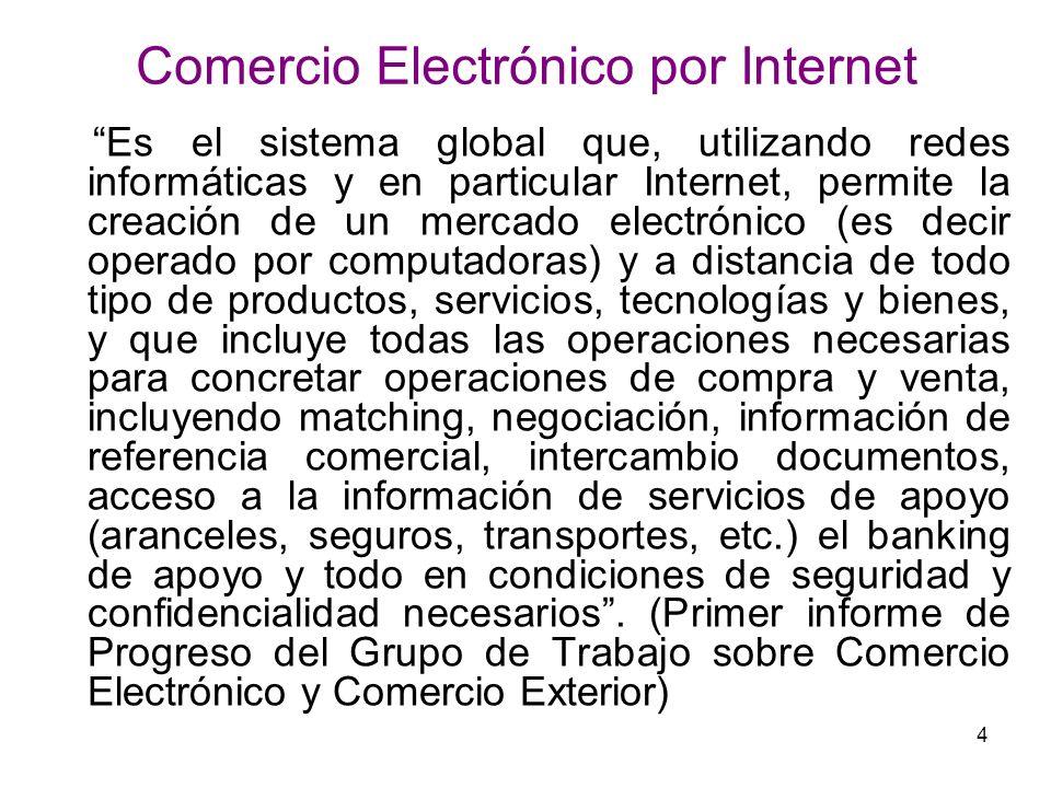 Comercio Electrónico por Internet