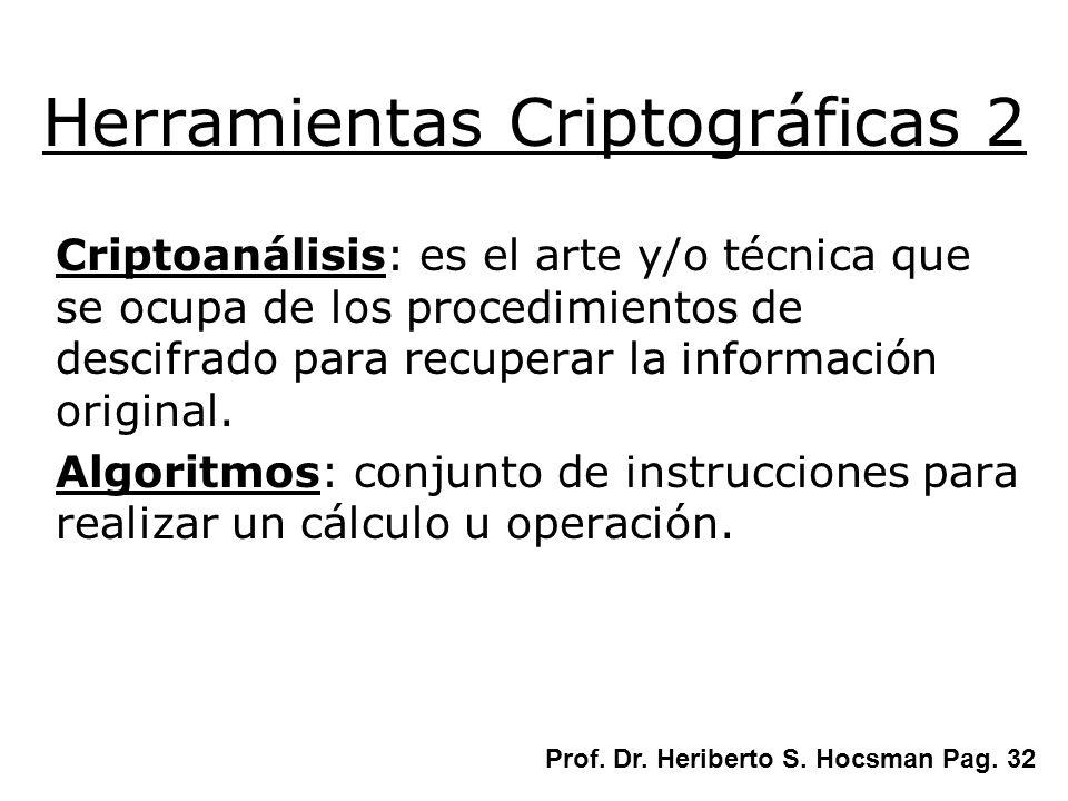 Herramientas Criptográficas 2